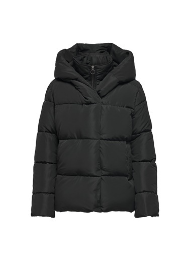 Only Only Sara Short Puffer Mont Siyah